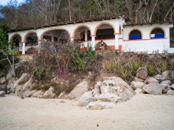 This is Los Arcos - our Casita on the beach