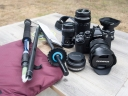Olympus Camera and Travel Gear for Alaska Trip
