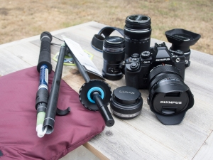Olympus Camera and Travel Gear for Alaska Trip