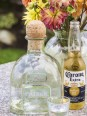 Still life of Beer and Tequila