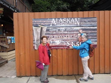 Alaskan Brewery Sign at They Asylum