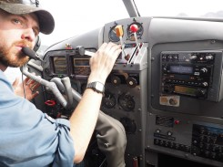 Our Pilot Jerrad at Work