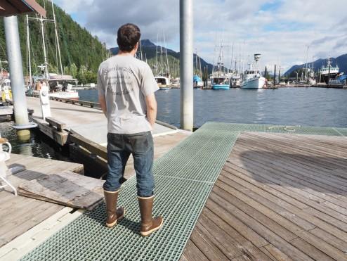 Waiting at Pelican Dock
