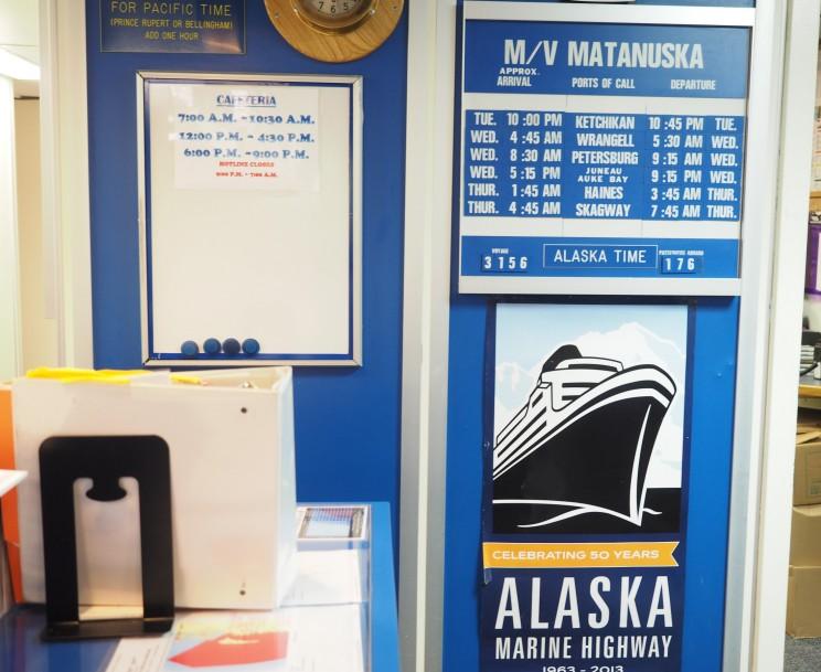Matanuska Ferry Schedule