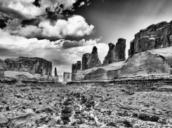Park Avenue at Arches National Park